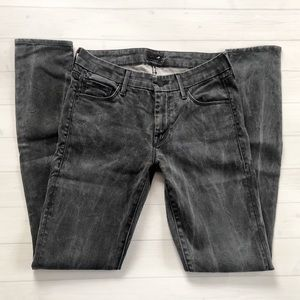 """Mother Skinny Jeans """"The Looker"""" in Lies & Shadows"""